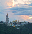 Kiev-Pechersk Lavra at sunset
