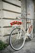 Flowered bike in Italy