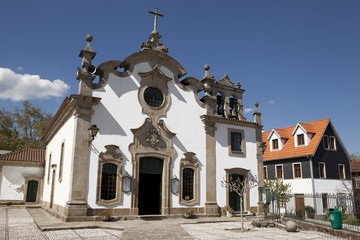 Our Lady of Conception church in Viseu, Portugal.