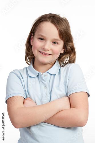 hübsche grundschülerin
