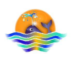 l'alba e la balena