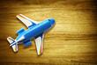 overhead desk plane
