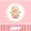 Baby Shower card.