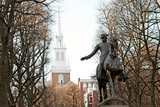 Paul Revere Statue Boston