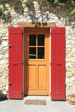 House in the Provence, frontdoor