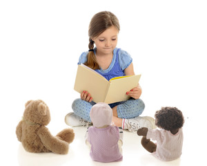 Young Reader, Tiny Listeners