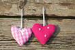 Ich liebe dich, zwei Herzen, grunge, Hochzeit, romantisch