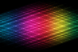 Abstract futuristic rainbow background
