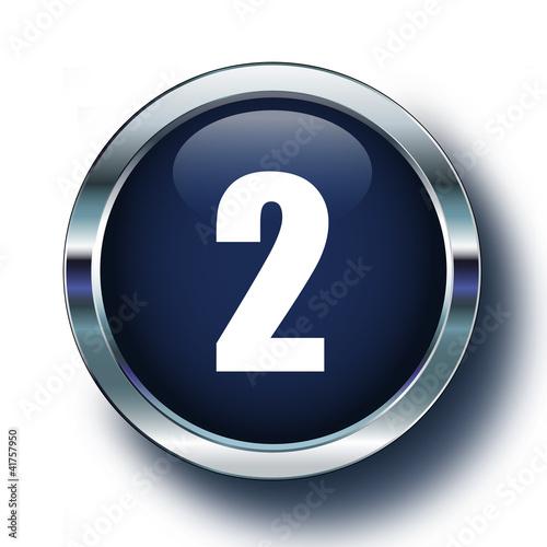 İki mavi ikonda