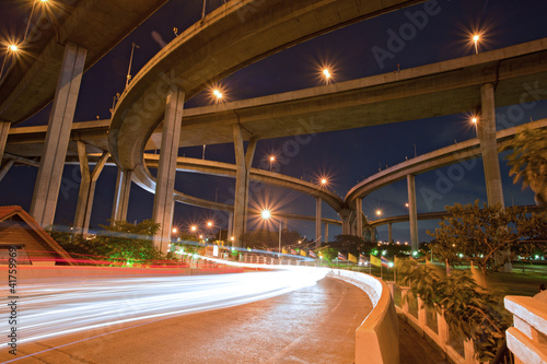 Architecture of Mega Bhumibol Industrial Bridge