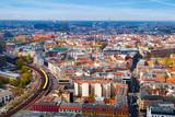Fototapety Aerial View of Berlin