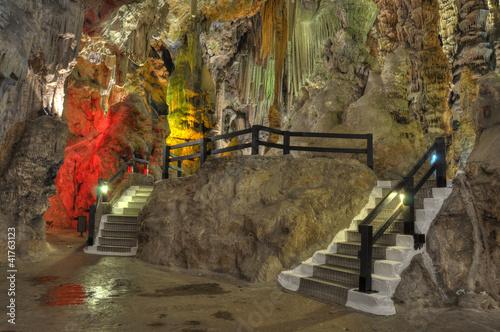 Saint Michelle cave interior details