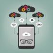 smart phone concept