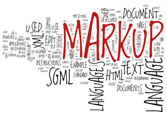 Markup concepts