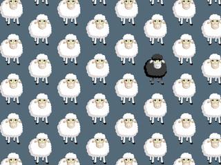 pattern moutons