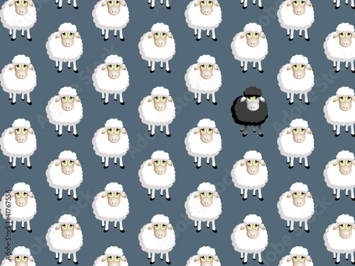 pattern moutons