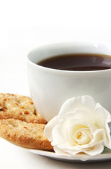 biscuits and cup of tea