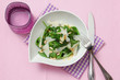 light summer spinach salad