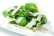 summer fresh baby spinach salad