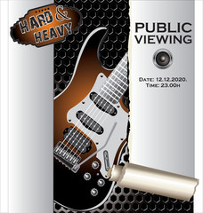 Music background Public viewing