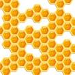 Alvéoles de miel