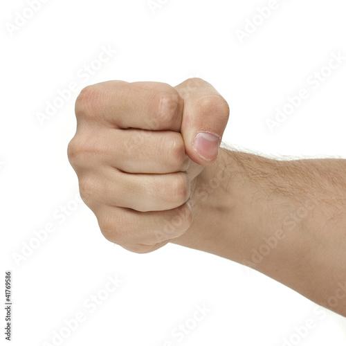 Pięść dłoń
