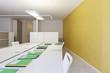 modern office interior design, files on the desk