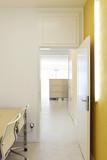 modern office interior design, passage