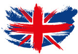 Union Jack Flag Sketched