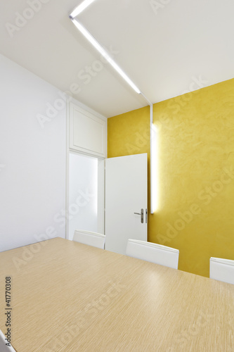 modern office interior design, meeting room