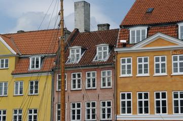 Kopenhagen bunte Häuserfront 5