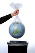 Earth in a bin