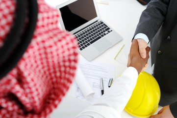 Making a successful deal for building at Middle eastern