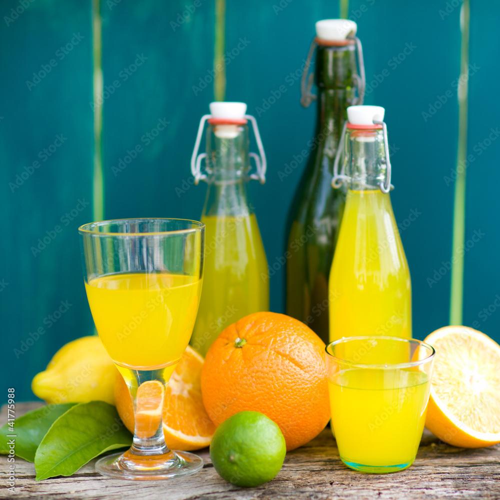 pomarańczowy lato słońce - powiększenie