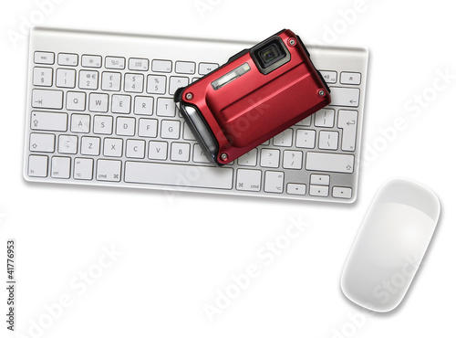 camera on keyboard