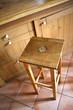 Meuble, tabouret, cuisine, intérieur, bois, mobilier, pin