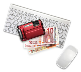 camera euros computer