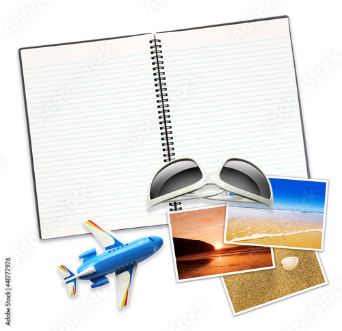travel items notepad