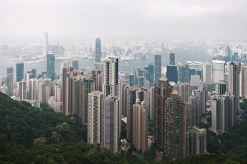 Hong Kongs Wolkenkratzer