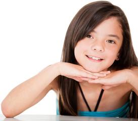Lovely girl portrait