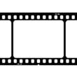Illustration of blank 35mm film strip
