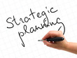 Strategic Planning Handwritten