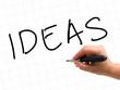 Ideas Handwritten