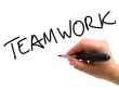 Teamwork Handwritten