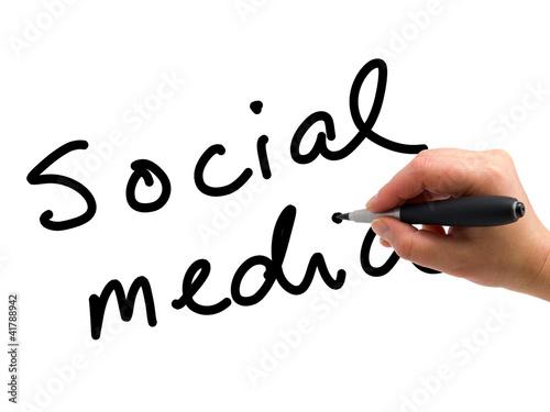 Social Media Handwritten