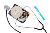 The stethoscope as a diagnostic tool for hard disk.