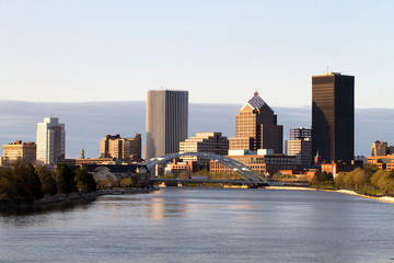Rochester New York Skyline