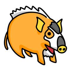 Wild boar Mascot 05