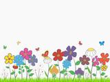 Fototapety Flower glade