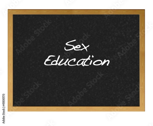 Sex education.